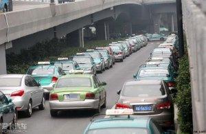 杭州发生大规模出租车停运事件