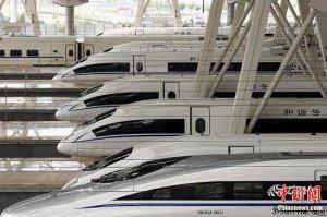 中国北车召回54大列CRH380BL型动车组整改