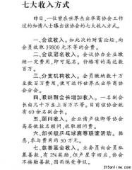"""华商协会被曝""""七大获利方式"""" 业务员私募有奖"""