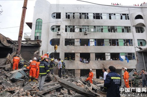 山西长治城区医院锅炉爆炸 目前已致3死17伤