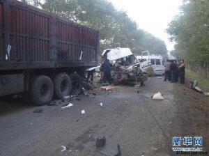 尚义车祸死亡人数升至18人 原因初步查明