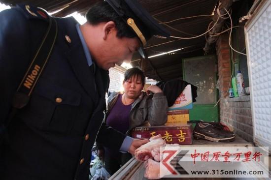 北京通州八里桥化学猪蹄日销过千斤