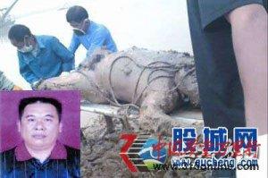 上访村官浮尸江中 尸体全身裸露引起社会各界的关注