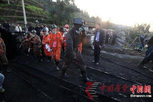 云南师宗煤矿事故搜救难度大 被困人员位置未确定