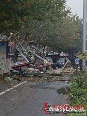 西安嘉天国际大厦门面房爆炸已致4死29伤