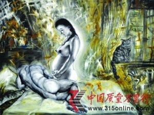 """""""裸模院长""""杨林川性爱画展引争议 网友难接受"""